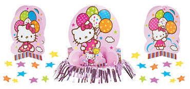 Hello Kitty Centerpiece Kit 23pc