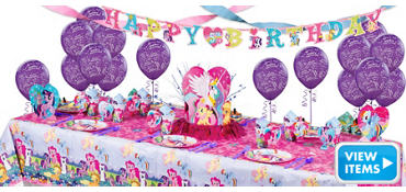 My Little Pony Party Supplies Super Party Kit