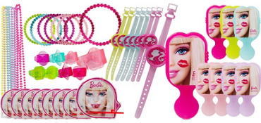 Barbie Favor Value Pack with 42 pieces