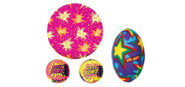 Splash Ball Combo Pack 4pc