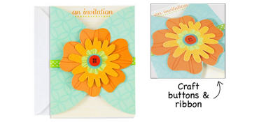 Premium Flower Fun Invitations 8ct