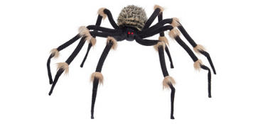 Poseable Hairy Spider