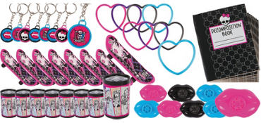Monster High Favor Value Pack with 48 pieces