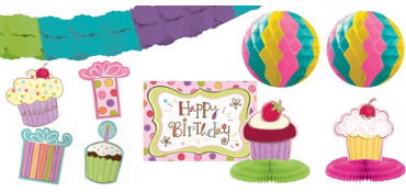 Sweet Stuff Room Decorating Kit 10pc