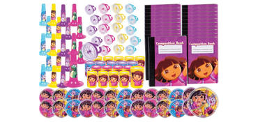 Dora Favor Value Pack with 100 pieces