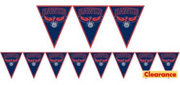 Atlanta Hawks Pennant Banner