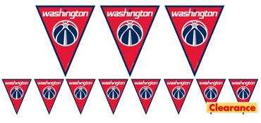Washington Wizards Pennant Banner