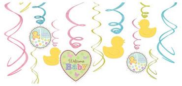 Tiny Bundle Swirl Decorations 12ct