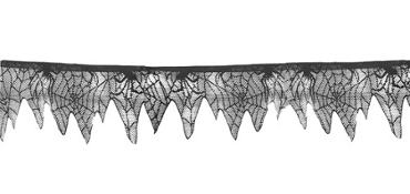 Black Lace Garland 25ft