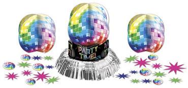 Disco Fever Table Decorating Kit 23pc