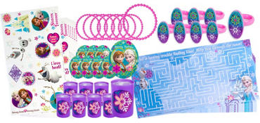 Anna & Elsa Frozen Favor Pack 48pc
