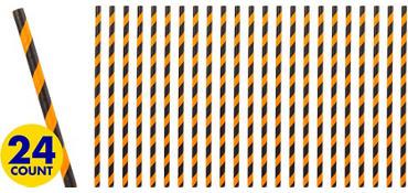 Halloween Paper Straws 24ct