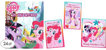 My Little Pony Valentine Exchange Cards 24ct