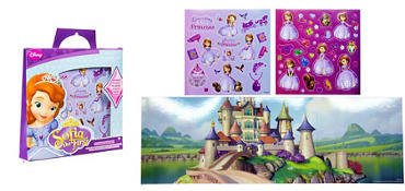 Sofia the First Sticker Activity Kit