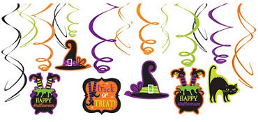 quick shop halloween swirl decorations - Party City Halloween Decorations