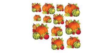 Fall Harvest Cutouts 12ct