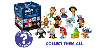 Disney Heroes vs. Villains Mystery Pack