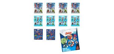Avengers Sticker Book 9 Sheets