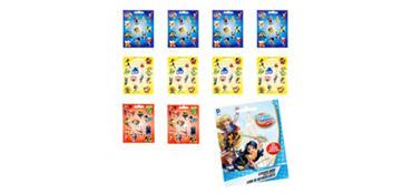 DC Super Hero Girls Sticker Book 9 Sheets