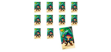 Jumbo Jake and the Never Land Pirates Stickers 24ct