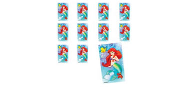 Jumbo Ariel Stickers 24ct - The Little Mermaid