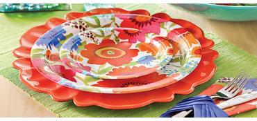 Floral Splash Party Supplies