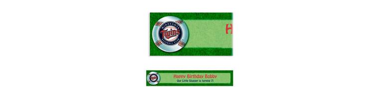Custom Minnesota Twins Banner 6ft