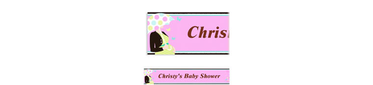 Custom Great Expectations Baby Shower Banner 6ft