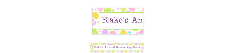 Eggstravaganza Custom Easter Banner 6ft