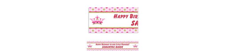 Little Princess Custom Birthday Banner 6ft