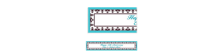 Always & Forever Custom Wedding Banner 6ft