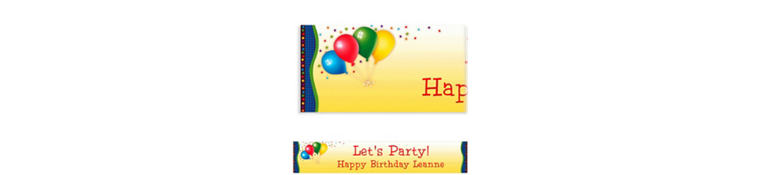 Custom Punchy Birthday Banner 6ft