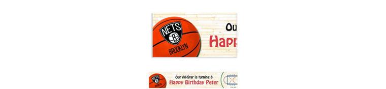 Custom Brooklyn Nets Banner 6ft