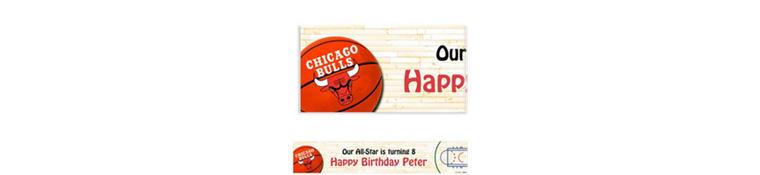 Custom Chicago Bulls Banner 6ft
