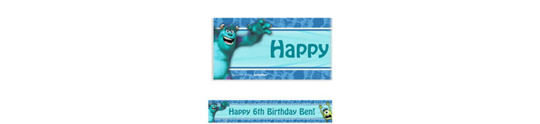 Monsters University Custom Banner
