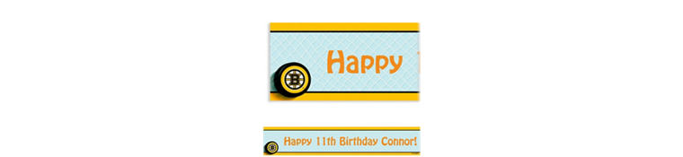 Boston Bruins Custom Banner