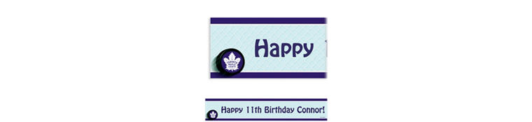 Custom Toronto Maple Leafs Banner 6ft