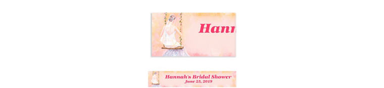 Bridal Swing Custom Bridal Shower Banner