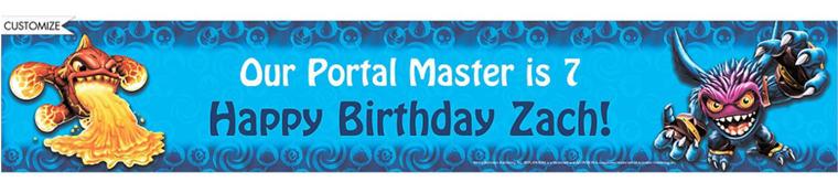 Custom Skylanders Banner 6ft