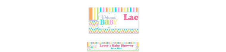 Custom Baby Brights Banner 6ft