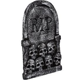 skulls tombstone decoration - Halloween Tombstone Decorations