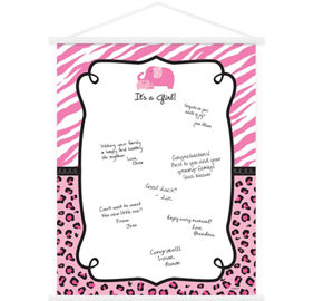 quick shop pink safari baby shower - Party City Baby Shower Invites