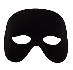 Black Domino Cocktail Mask