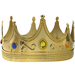 Adult Jeweled King Crown