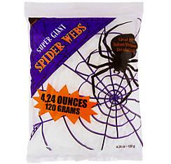 White Stretch Spider Web