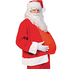 Filled Santa Belly