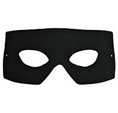 Black Verona Masquerade Mask
