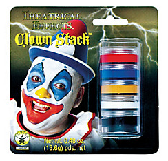 Clown Makeup Stack