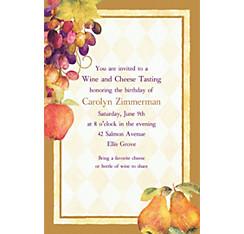 Sonoma Custom Invitation