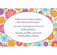 Spring Day Custom Invitation